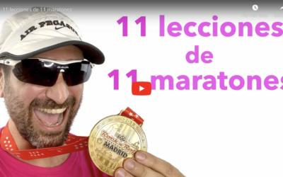11 lecciones de 11 maratones