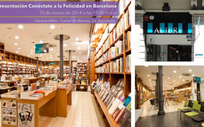 presentación de conéctate a la felicidad en barcelona